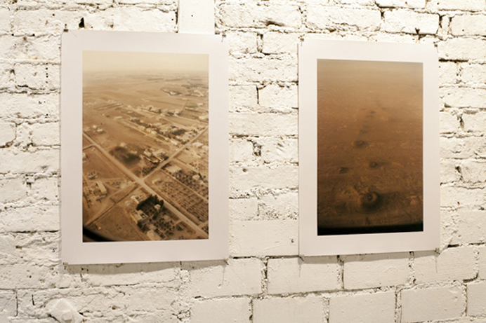 Peter Riedlinger, Installation view: Syria - to whom it may conc