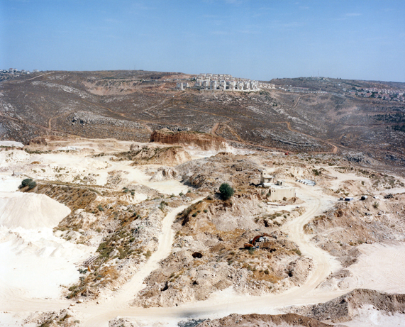 Peter Riedlinger, Qalandia/Psagot-Settlement expansion, West Ban