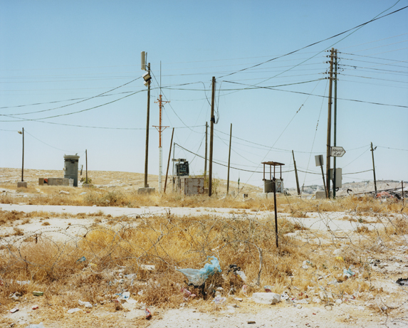Peter Riedlinger, Container Checkpoint, West Bank, Palestine 200